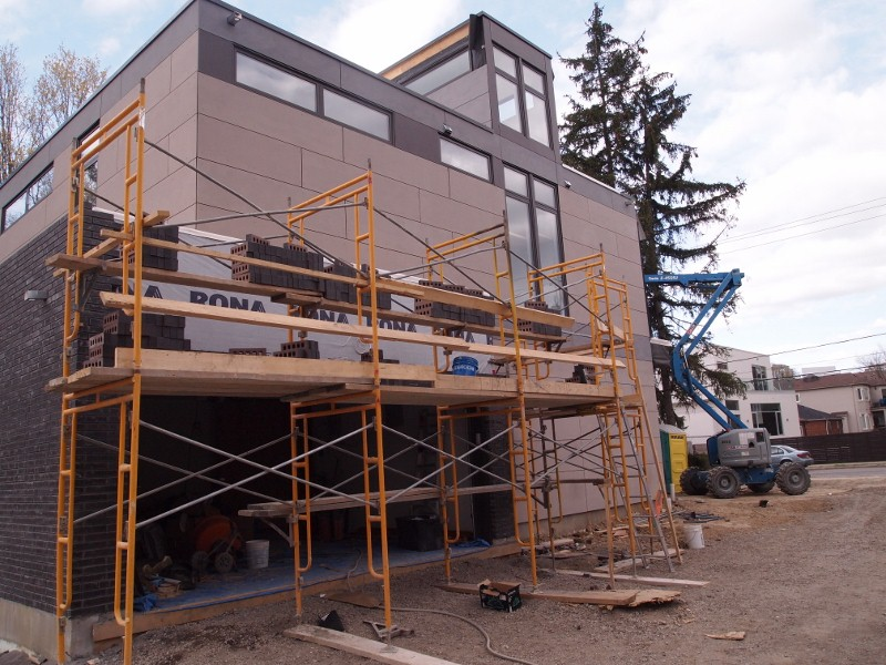 Exterior cladding of Nexterra modular home