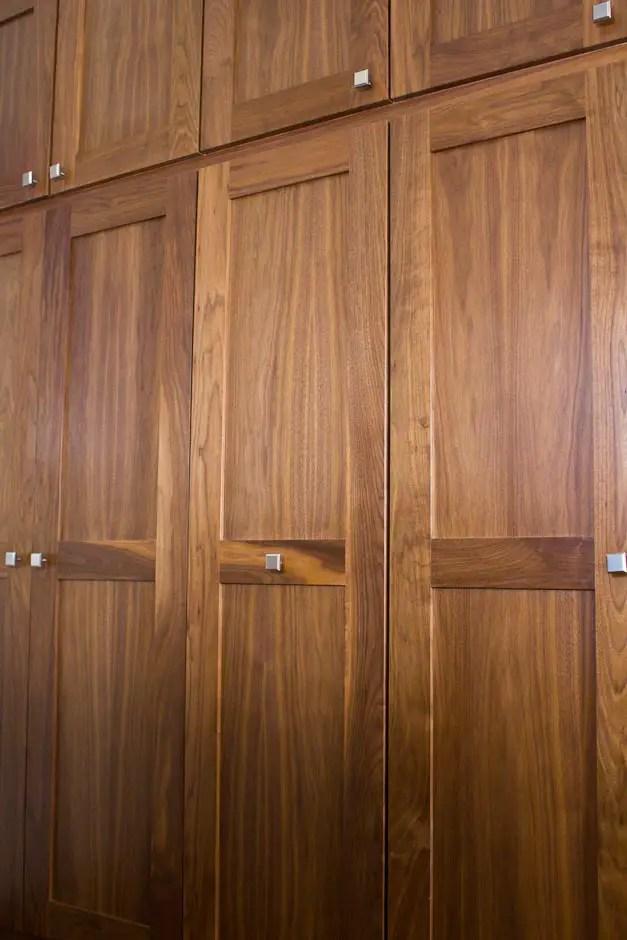 FSC wood cabinets no added urea formaldehyde MDF interior