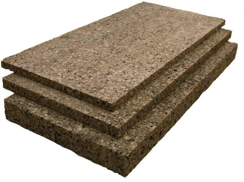 Amorim semi-rigid cork insulation