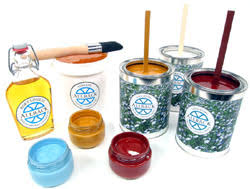 Allback Paints Made From Pure Organic Linseed Oil and 100% Petroleum Free