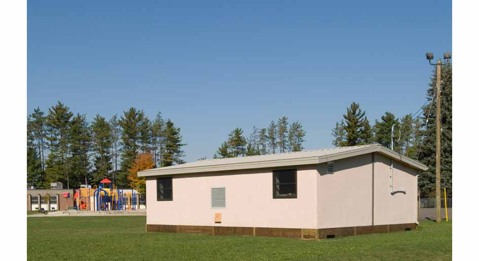 mobEE Strawbale School Portables are a low impact breath of fresh air