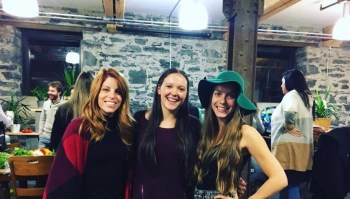 from left to right: Christine Beaudoin, Geneviève Rousseau , Mélanie Boudreau