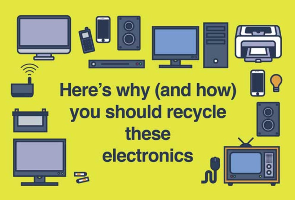Now is the time to recycle your electronics