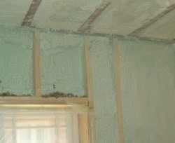 Heatlok Spray Foam Insulation: Soy and Recycled Plastic