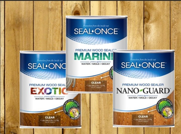 Seal Once premium wood sealer