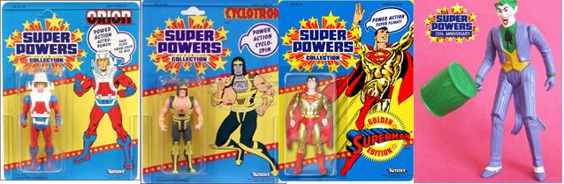 super powers, super amigos, la hsitoria de sus figuras de accion bechita y bechito