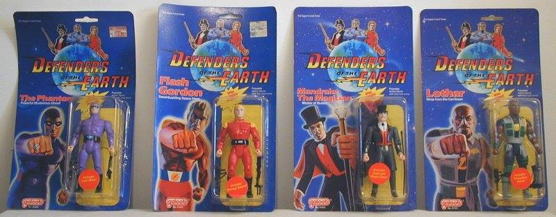 figuras de accion defenders of the earth bechita y bechito