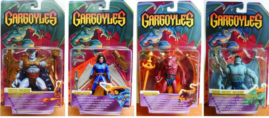 the gargoyles action figures serie 3