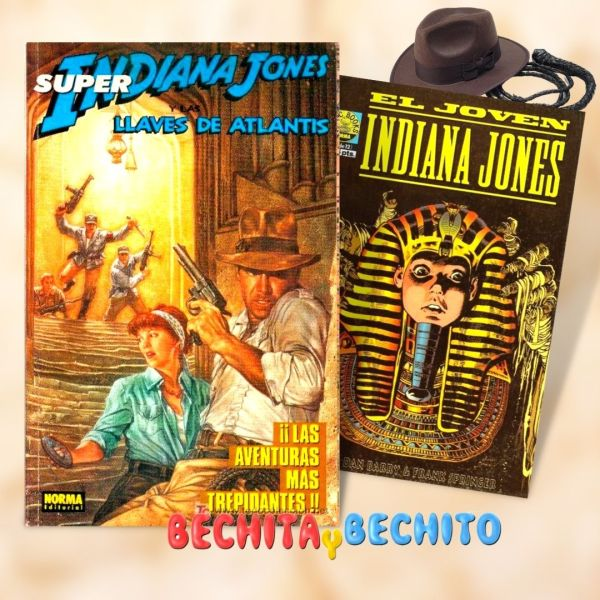 Indiana Jones y las llaves de Atlantis Comic