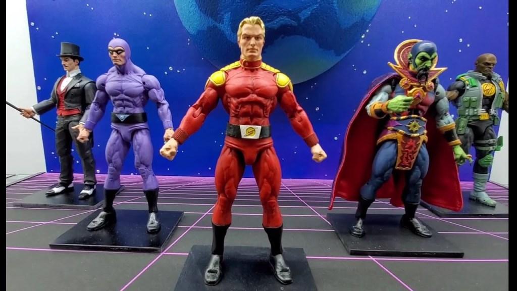 defender of the earth flash gordon y demas figuras bechita y bechito