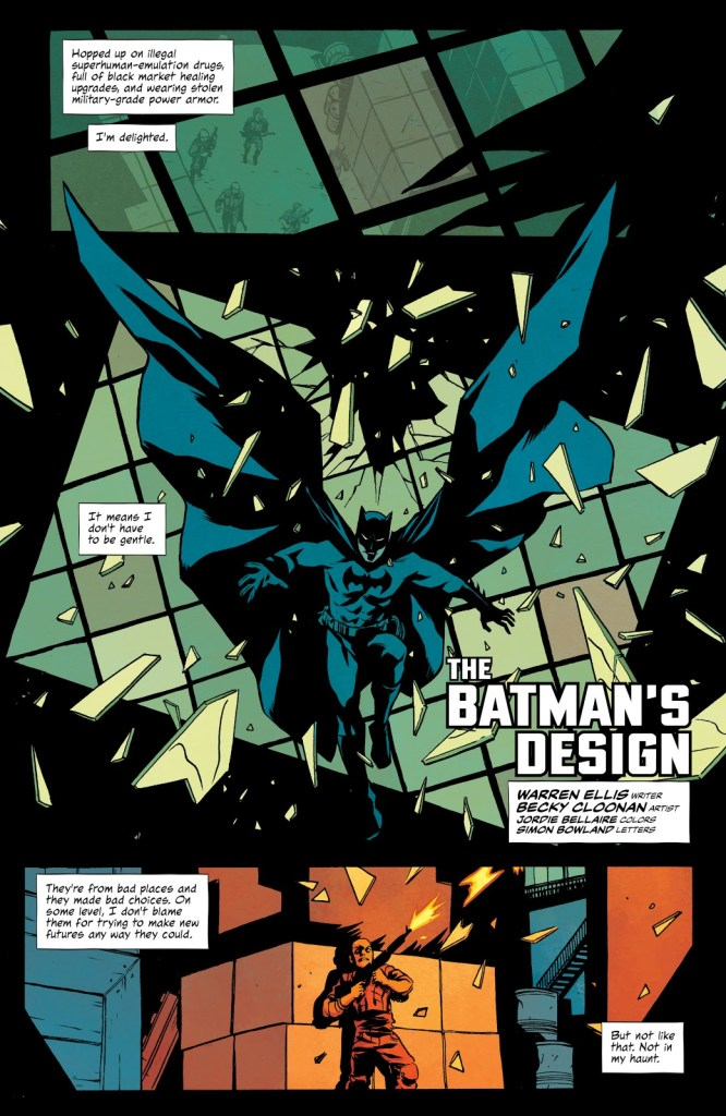 Batman Design detective comics 1000 1