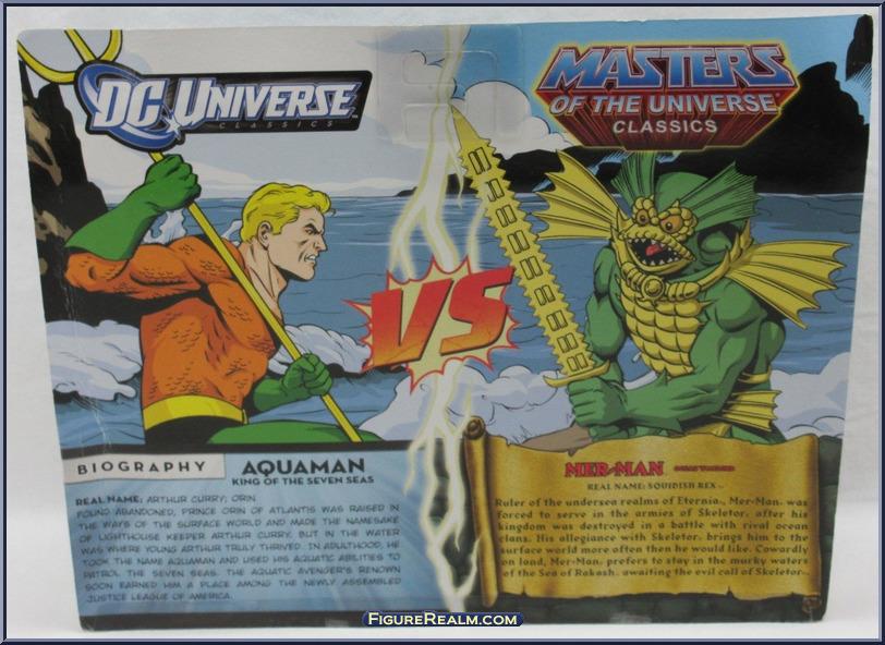 DC Universe vs Masters of the Universe AquaManMerMan Back