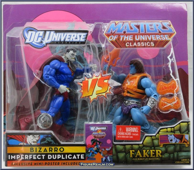 DC Universe vs Masters of the Universe BizarroFaker 1