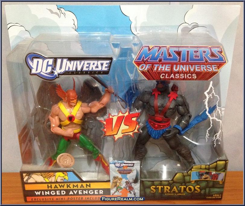 DC Universe vs Masters of the Universe HawkmanStratos