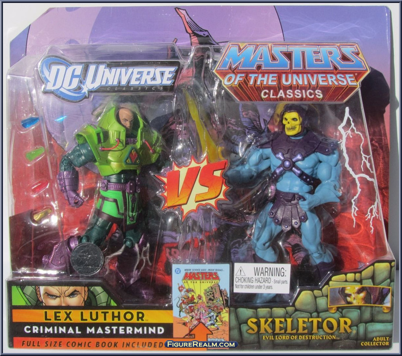 DC Universe vs Masters of the Universe LexLuthor Skeletor 1