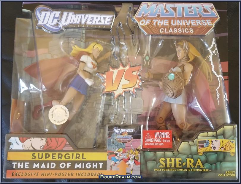 DC Universe vs Masters of the Universe SupergirlSheRa 1