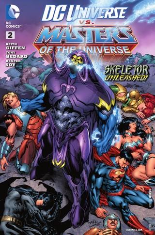DC Universe vs Masters of the Universe comic 2