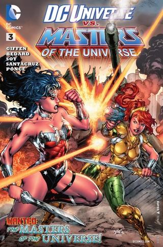 DC Universe vs Masters of the Universe comic 3