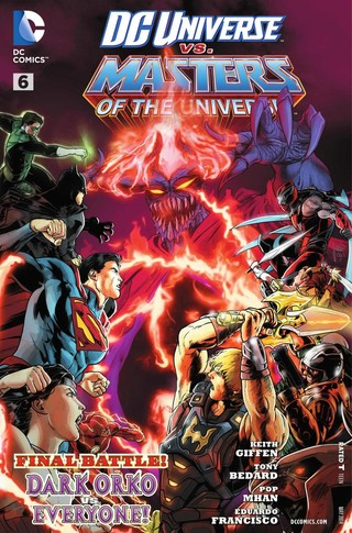 DC Universe vs Masters of the Universe comic 6
