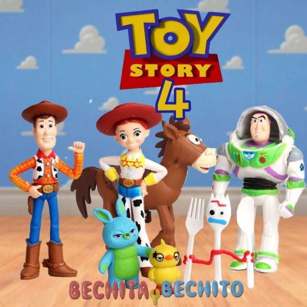 toy story 4 set de gashapones