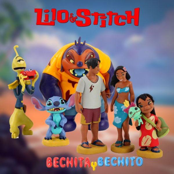 Lilo y Stitch Gashapones