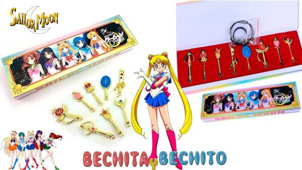 sailor moon dije llavero