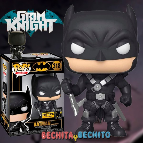 Funko Pop Grim Knigth Batman 318