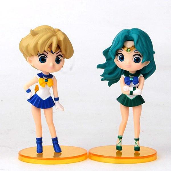 Sailor Moon Gashapones x 6 figuras c