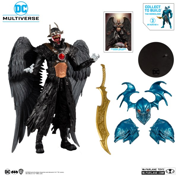 Batman Who Laughs with Sky Tyrant Wings McFarlane Toys