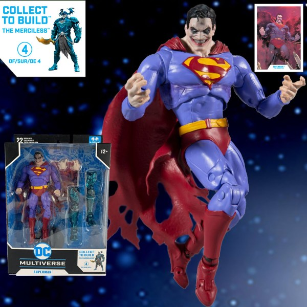 superman the infected mc farlane toys