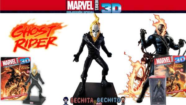 Ghost Rider Marvel Heroes 3D