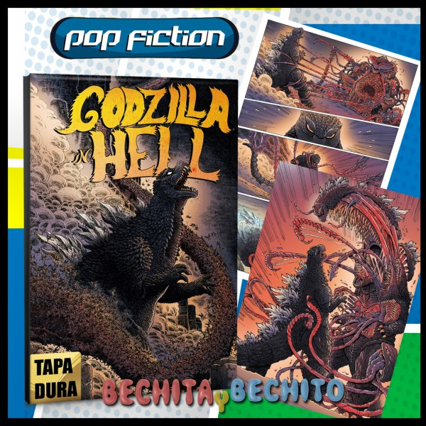 godzilla in hell comic