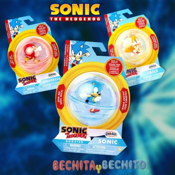Sonic Booster Spheres