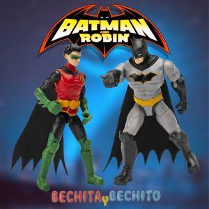 batman y robin spin master
