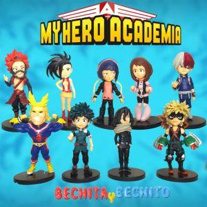 my hero academia set x 9