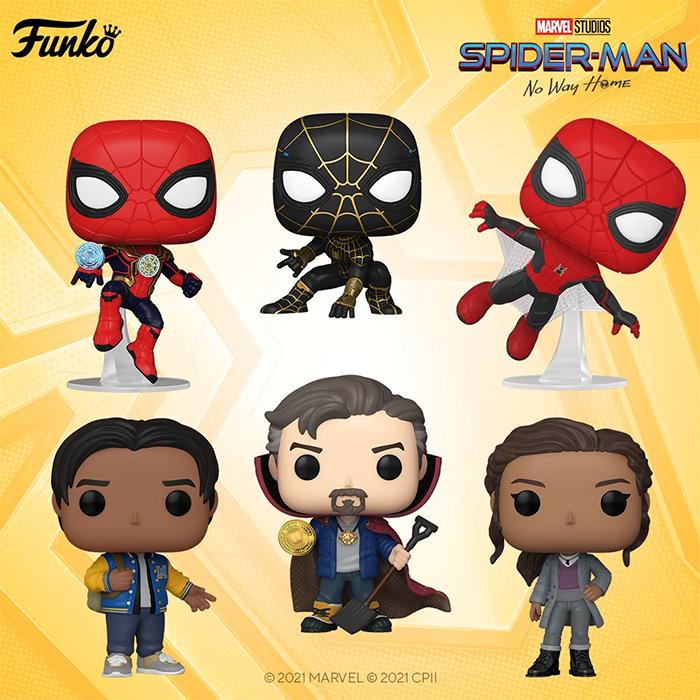 spider man no way home funko pops 1