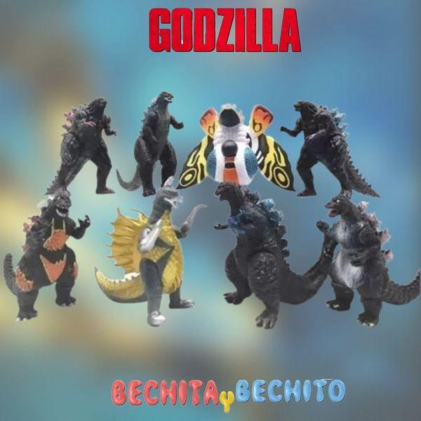 godzilla king of monsters x 8 11 cm