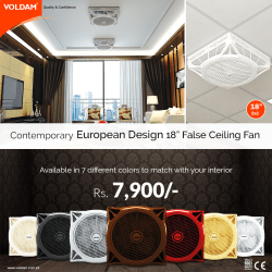 voldam false ceiling fan 1
