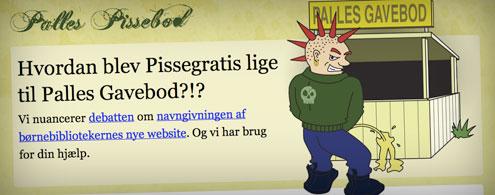 Forsiden på Palles Pissebod
