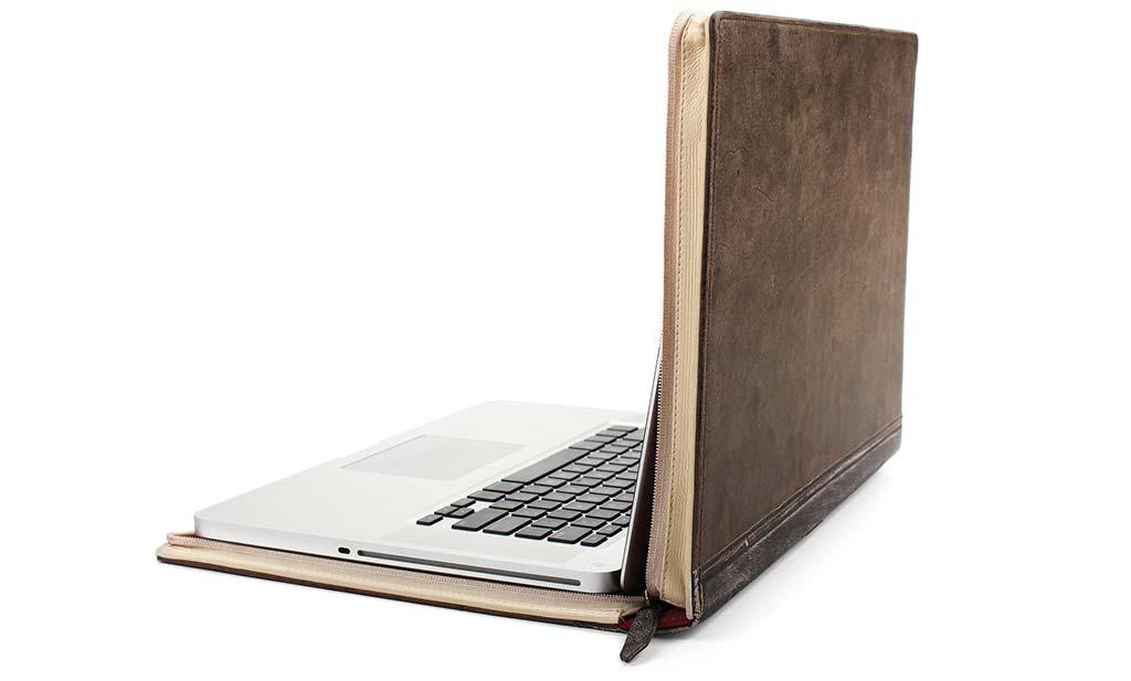 BookBook læderetui til MacBook Pro fra 12south.