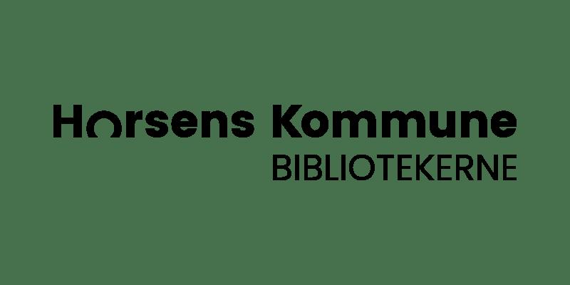 Logo for Horsens Kommune Bibliotekerne