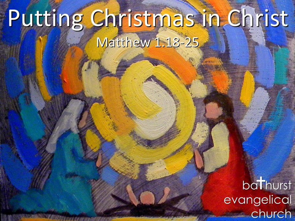 Putting Christmas in Christ