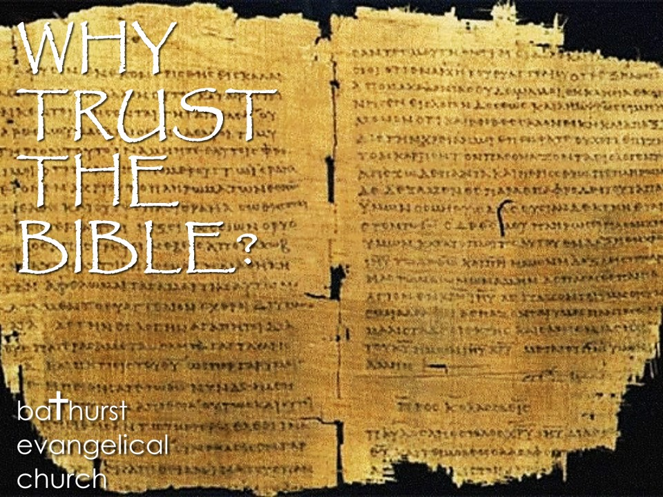 Why Trust the Bible – 1 Translation