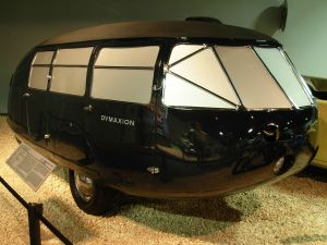 Dymaxion Car Prototype 2 on display at National Automobile Museum in Reno, Nevada.