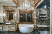 Mountain Living in Big Sky, Montana - Beck/Allen Cabinetry