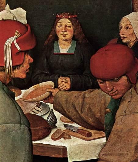 Bruegel_Peasant_Wedding_(detail)_