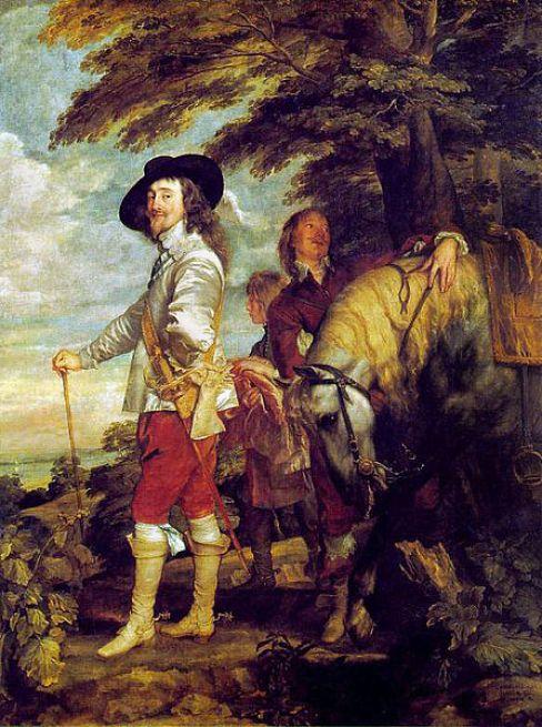 Charles I-Van Dyck