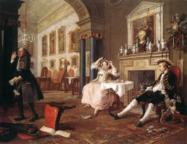 Hogarth marriage 2