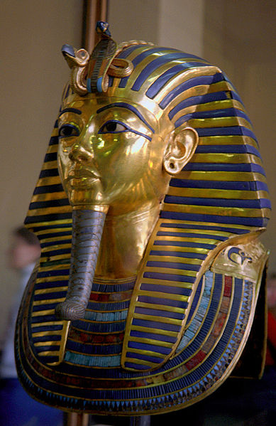Funeral Mask of Tutankhamun.