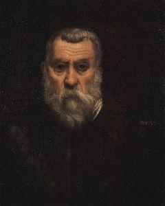 Self-Portrait of Jacopo Tintoretto (1588).